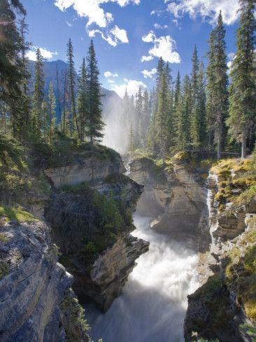 Athabasca Falls, Alberta, Canada (photo by Michele Falzone)