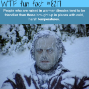 Cold outside = Cold inside?