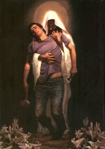 Forgiven (painted by Thomas Blackshear)