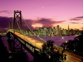 San Francisco, California (where we spent the second half of our honeymoon)