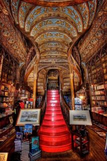 Livaria Lello bookstore, Porto, Portugal