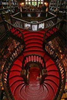 Livaria Lello bookstore, Porto, Portugal