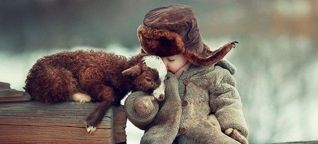Kids and cuddling go together (photo by Elena Karneeva)