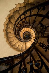 Spiral Staircase (photo by Jaroslaw Blaminsky)