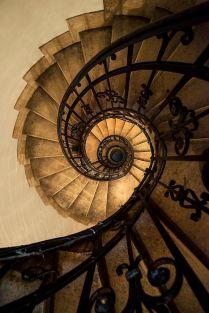 Spiral Staircase (photo by Jaroslaw Blaminsky)