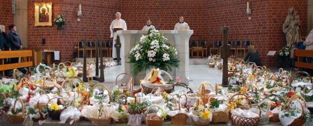 Blessing of the Easter Baskets in Poland