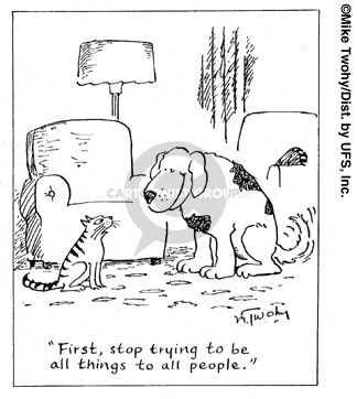 Cats make very down-to-earth therapists.