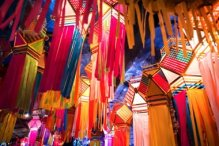 Easter lanterns in India