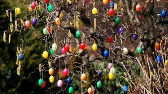 German Easter Egg Tree