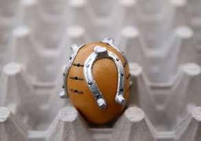 Good luck eggs in Kresevo, Bosnia-Herzegovina