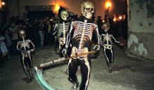 Holy Thursday Dance of Death in Verges, Spain