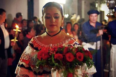 In Columbia, Easter Processions last all night and continue for an entire week