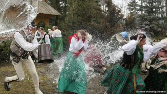 Smigus Dyngus (Wet Monday) in Poland