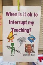 Teacher's Rules