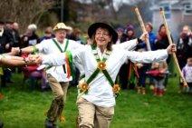 U.K. - Morris dancers