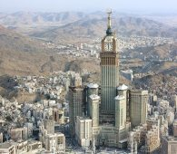 Abraj-Al-Bait-tower, Mecca1 (world's biggest clock)