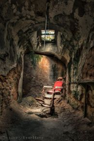 Barber's Chair, Eastern State Penitentiary
