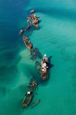 Bermuda Triangle sandbar