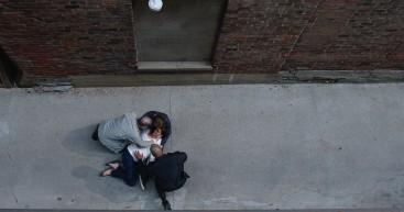Ingrid shot in alley