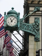 Marshall Fields clock (photo by Maria Day)
