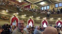 Premiere audience in Cincinnati