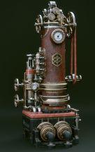 Steampunk clock by Toni Bratiincevic