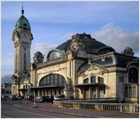 Train Station, Limoges, France