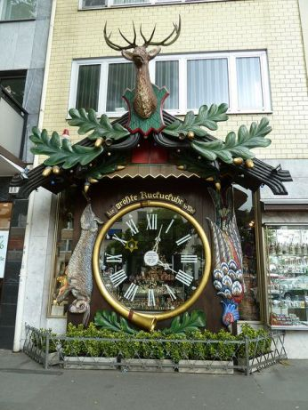 World's Biggest Cuckoo Clock, Wiesbaden, Germany