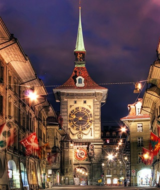 Zytglogge Clock Tower, Switzerland