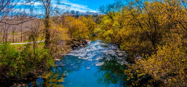 Beautiful Day. Panoramic Photograph. By Stephen Geisel, Love-fi