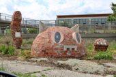 Monumental Kitty by Jerome Ferretti (Detroit)