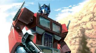 Optimus Prime from Transforms