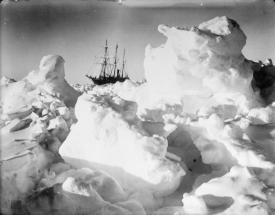 1915 - Explorer Sir Ernest Shackleton's vessel Endurance was trapped and crushed by ice. He and the crew escaped on rafts, eventually making it to safety after a frozen 497 day trek to civilization).