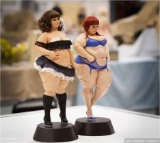 'Appetite-Thick' dolls by Vladimir Sushkevich
