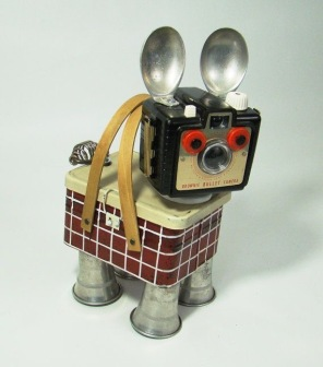 Bill's Retro Robots (Etsy)