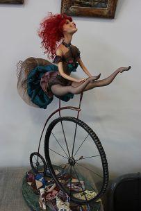 Circus Artist doll by Kazan