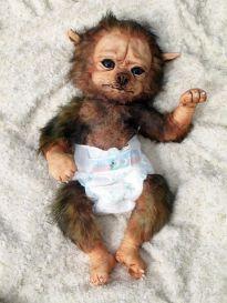 Little Werewolf boy doll (Etsy)