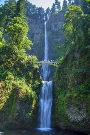 Multnomah Falls, Oregon (North America's most visited recreation site)
