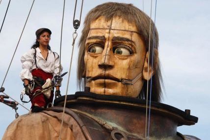 Royal de Luxe puppets 2