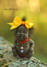 'Rufaro' doll by Elena Kirilenko