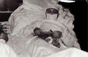Soviet doctor Leonid Rogozov removed his own appendix during an Antarctic expedition in 1960.