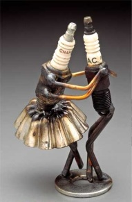 Sparkplug dancers by Dan Cooley