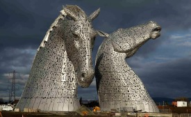 The Kelpies, Scotland (sulpted by Andy Scott)
