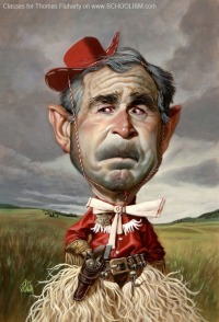 George W. Bush by Thomas Fluharty