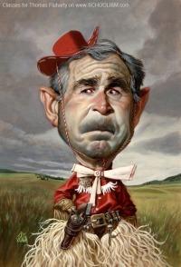 George W. Bush by Thomas Fluharty