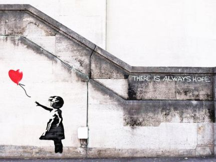 'Girl With Balloon' by Banksy