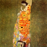 'Hope' by Gustav Klimt