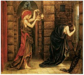 'Hope in the Prison of Despair' by Evelyn De Morgan