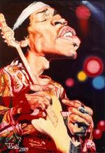 Jimi Hendrix by Tonio