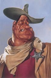 John Wayne by Sebastian Kruger